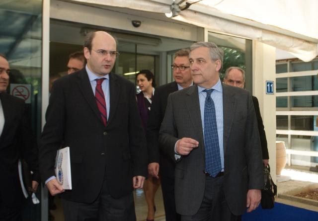 Visit of Antonio Tajani, Vice-President of the EC, to Greece