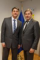 Visite de Zoltán Cséfalvay, ministre délégué hongrois aux Affaires stratégiques, à la CE
