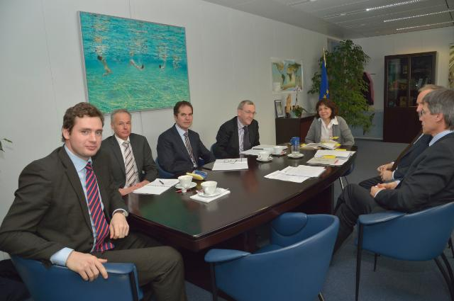 Visit to the EC of the representatives of several associations active in the field of fisheries