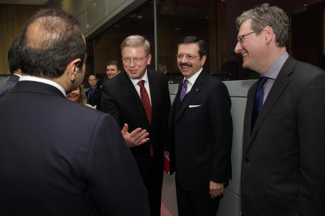 Visit of Egemen Bağış, Turkish Minister for EU Affairs and Chief Negotiator for Turkey's accession negotiations with the EU, and Faruk Çelik, Turkish Minister for Labor and Social Security, to the EC