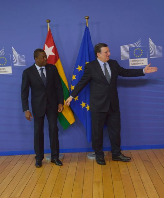 Visit of Faure Gnassingbé, President of Togo, to the EC