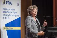 Participation de Viviane Reding, vice-présidente de la CE, au 1er Forum international Idaho
