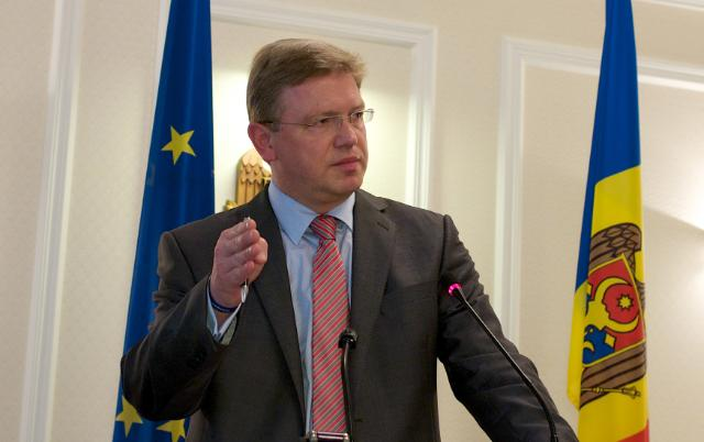 Visit of Štefan Füle, Member of the EC, to Moldova