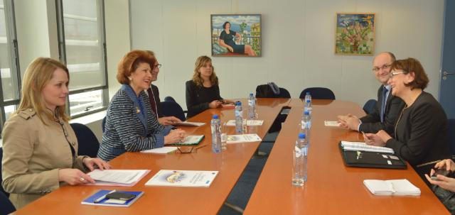 Visit of Laura Georgescu, President of National Audiovisual Council of Romania, to the EC