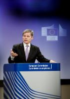 Press conference by Dacian Cioloş, Member of the EC, on the withdrawal of the proposal to regulate olive oil on restaurant tables