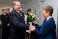 Visit of Vladimir Puchkov, Russian Minister for Emercom, to the EC
