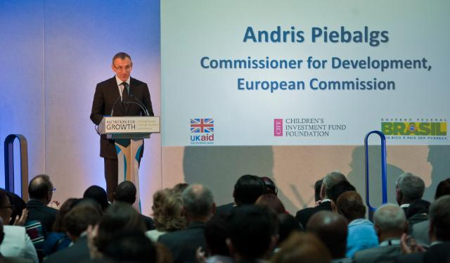 Participation of Andris Piebalgs, Member of the EC, at the conference 'Enhancing maternal and Child nutrition in external assistance: an EU policy framework', organised in London