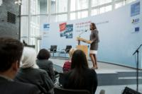"Keynote speech by Commissioner Cecilia Malmström, at the ""We are the others"" conference about right-wing extremism. Berlin, 27 May 2013. Photo: Friedrich Ebert Foundation"