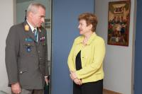 Visit of Wolfgang Wosolsobe, Director-General of the EUMS, to the EC