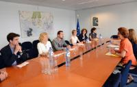 Visit of serveral members of the Boards of Member Organisations of the EPPCCI to the EC