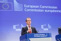 Press conference by Algirdas Šemeta, Member of the EC, on the EC proposal to fill a standard VAT return