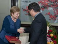 Visit by Kristalina Georgieva, Member of the EC, to China