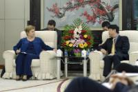 Visit by Kristalina Georgieva, Member of the EC, to China