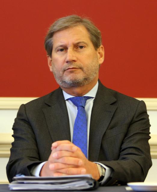 Visit by Johannes Hahn, Member of the EC, to Lithuania