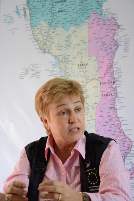 Visit by Kristalina Georgieva, Member of the EC, to the Philippines