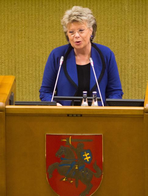 Citizens' Dialogue in Vilnius with Viviane Reding