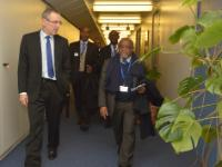 Visit of Abderemane Moussa, General Secretary of the Vice-Presidency in charge of the Comorian Ministry for Finance, Economy, Budget, Investment and Foreign Trade, to the EC