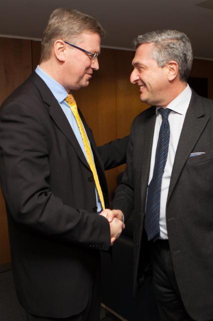 Visit of Filippo Grandi, Commissioner General of UNRWA, to the EC