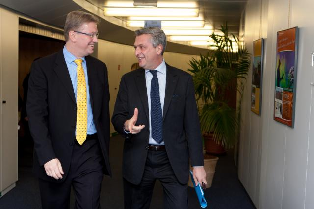Visit of Filippo Grandi, Commissioner General of UNRWA, to the EC