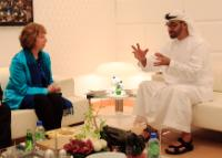 Visit of of Catherine Ashton, Vice-President of the EC, to the Gulf States