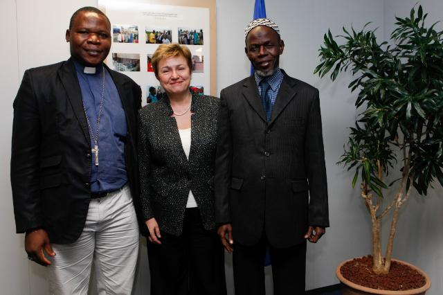 Visit of Dieudonné Nzapalainga, Archbishop of Bangui and President of the Central African Episcopal Conference, and Omar Kabine Layama, Imam of Bangui, President of the Islamic Community of Central African Republic, to the EC