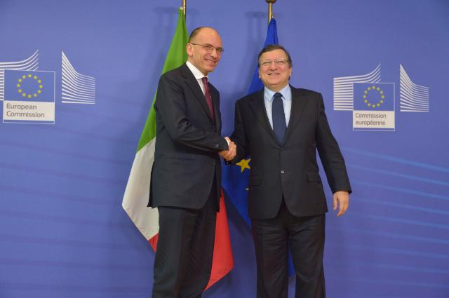 Visit of a delegation from the Italian government to the EC