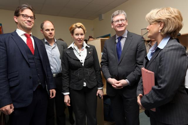 Visit of László Andor, Member of the EC, to Germany