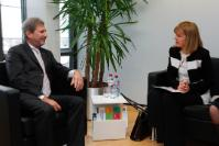 Visit of Jordanka Fandakova, Mayor of Sofia, to the EC