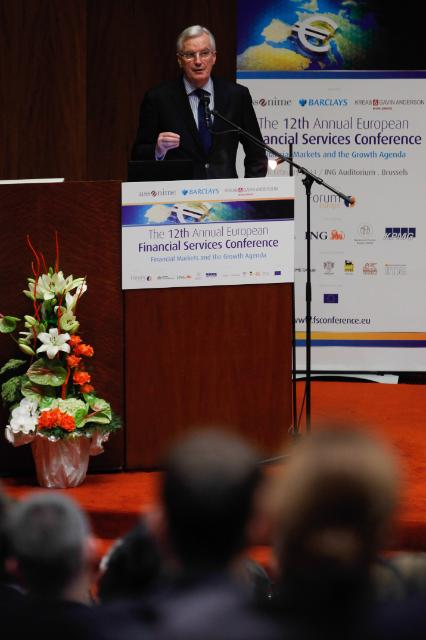Participation of Michel Barnier, Member of the EC, at the 12th Annual European Financial Services Conference