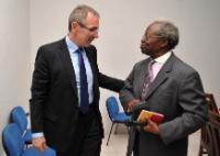 Visit of Andris Piebalgs, Member of the EC, to the Central African Republic