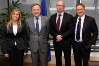 Visit of Juan Carlos Moragues Ferrer, Minister for Finance and Public Administration of the Autonomous Community of Valencia, to the EC