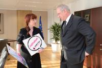 Visit of Katy Taylor, Head of Science at the British Union for the Abolition of Vivisection, to the EC