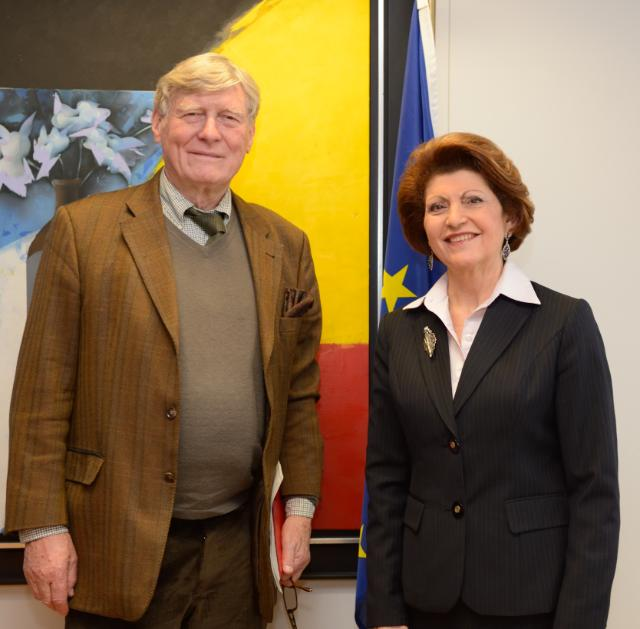 Visit of Pierre Defraigne, Executive Director of the Madariaga - College of Europe Foundation, to the EC