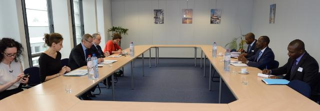 Visit of Mohamed Diaré, Guinean Minister of State for Economy and Finance, to the EC