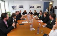 Visit of Wilfried Haslauer, Governor of the Land of Salzburg, to the EC