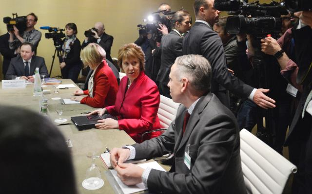 Participation of Catherine Ashton, Vice-President of the EC, in the Ukraine Talks in Geneva
