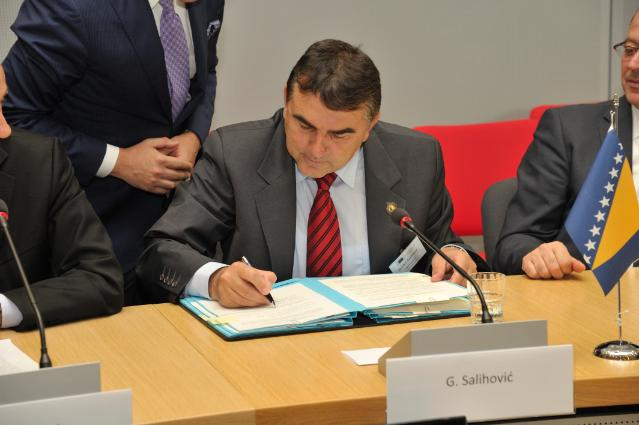 Signature of the Protocol on Cooperation in Prosecution of Perpetrators of War Crimes, Crimes against Humanity and Genocide between the Prosecutor's Office of Bosnia and Herzegovina and the Supreme State Prosecutor's Office of Montenegro