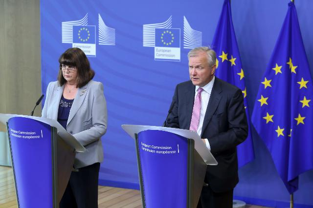 Joint press conference by Olli Rehn, Vice-President of the EC, and Máire Geoghegan-Quinn, Member of the EC, on the Innovation Communication