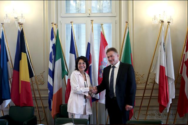 Meeting between Jacob Vestergaard, Faeroese Minister for Fisheries, and Maria Damanaki, Member of the EC