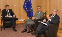 "Illustration of ""Visit of Members of the 'Art on Chairs' project to the EC"""