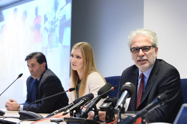 Press conference by Christos Stylianides, Member designate of the EC, EU Coordinator for the Ebola response