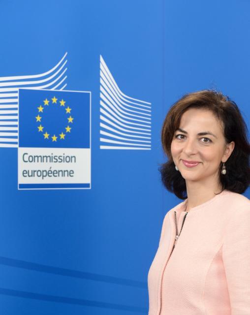 Vanessa Mock, Spokesperson at the EC