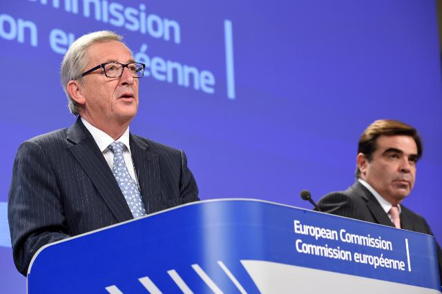 Press conference by Jean-Claude Juncker, President of the EC, on the conclusions of the first weekly meeting of the Juncker Commission