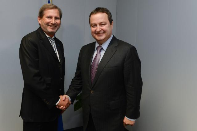 Visit of Ivica Dačić, Serbian First Deputy Prime Minister and Minister for Foreign Affairs, to the EC