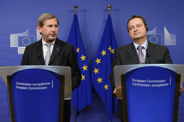 Visite d'Ivica Dačić, premier vice-Premier ministre serbe et ministre des Affaires étrangères, à la CE