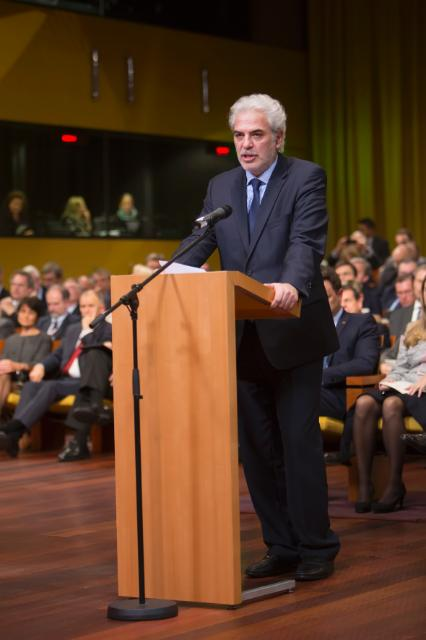 Swearing-in ceremony of the Juncker Commission at the Court of Justice of the EU