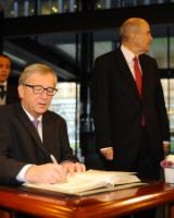 "Illustration of ""Swearing-in ceremony of the Juncker Commission at the Court of Justice of the EU"""