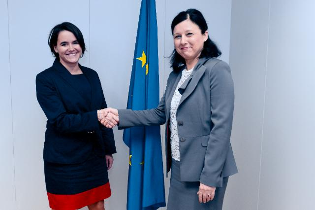 Visit of Katalin Novák, Hungarian Minister of State for Family and Youth Affairs, to the EC