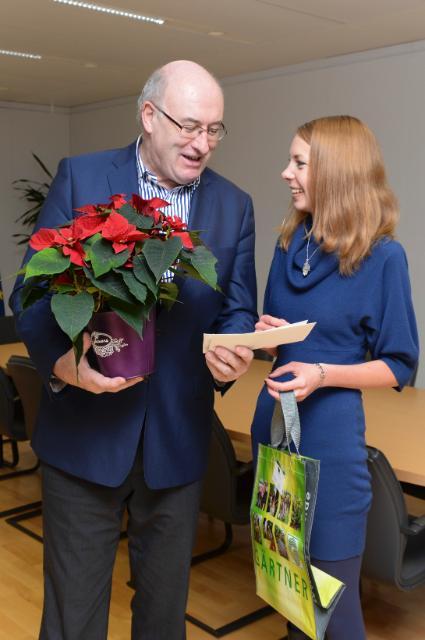 Visit of Julia Stark, Policy Officer for European Affairs at Zentralverband Gartenbau, to the EC
