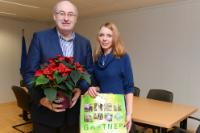 Visit of Julia Stark, Policy Officer for European Affairs at Zentralverband Gartenbau, to the EC